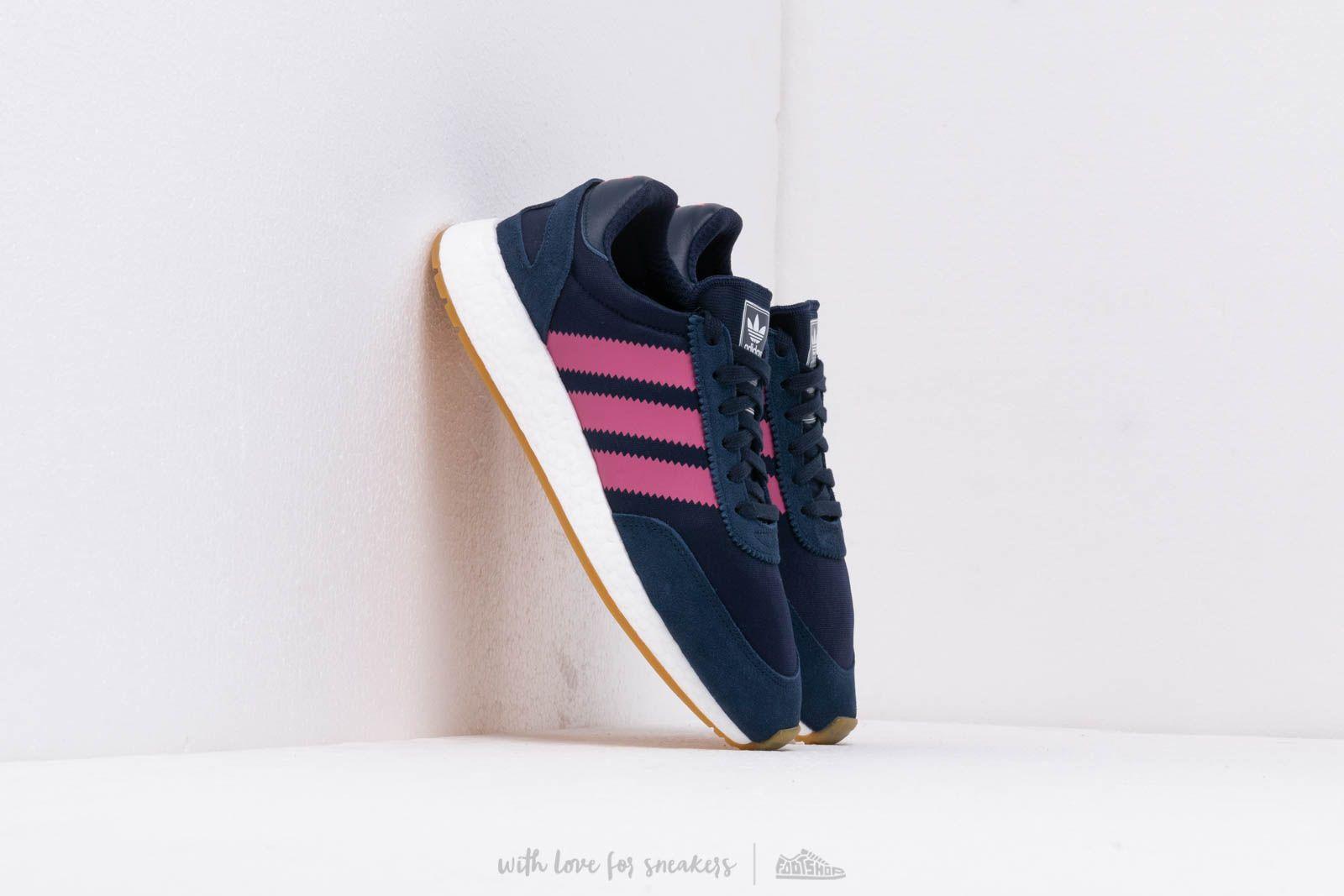 Men's shoes adidas I-5923 Night Indigo/ Real Pink S18/ Gum 3
