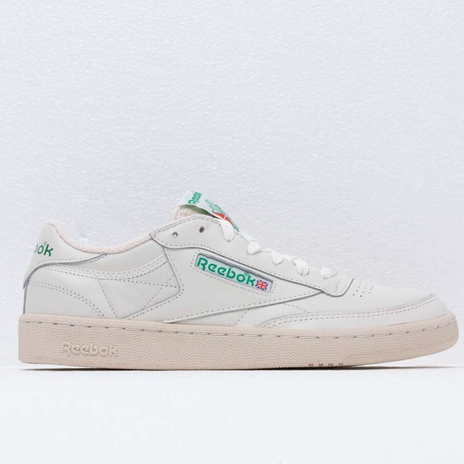 Reebok Club C 1985 TV Chalk/ Paper White/ Green, Gray