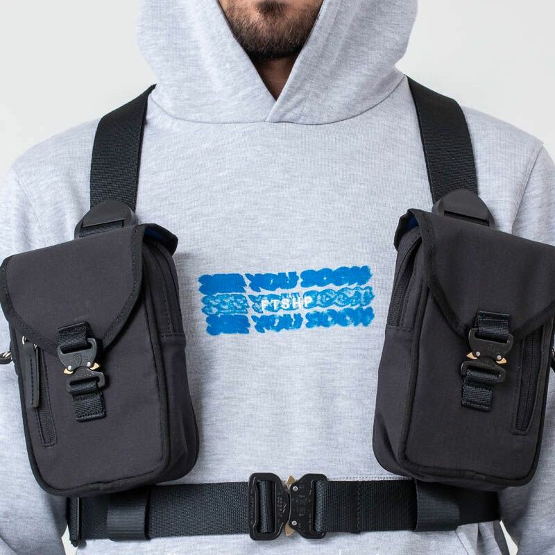 "FTSHP ""See You Soon"" Cargo Harness Black"