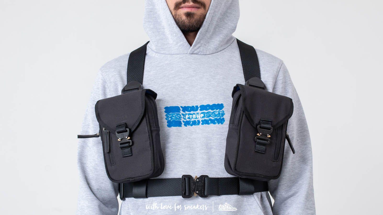 """FTSHP """"See You Soon"""" Cargo Harness Black za skvelú cenu 147 € kúpite na Footshop.sk"""