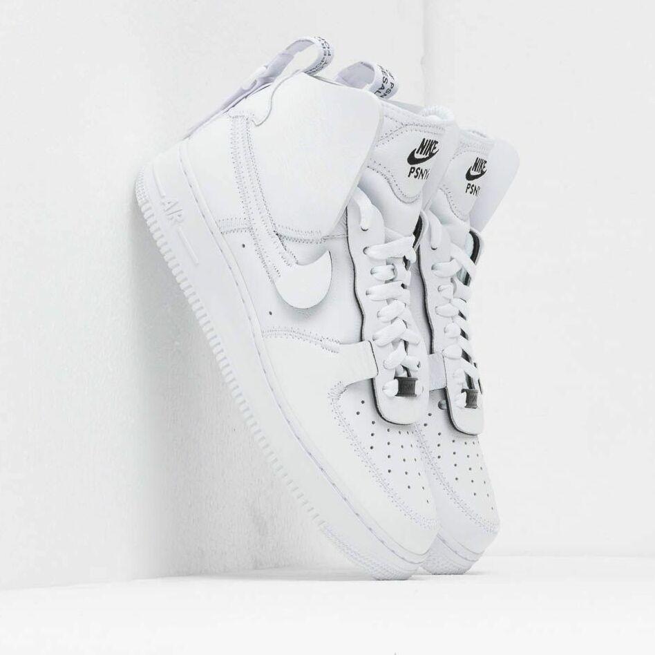 Nike x PSNY Air Force 1 High White/ White-White-Black EUR 42