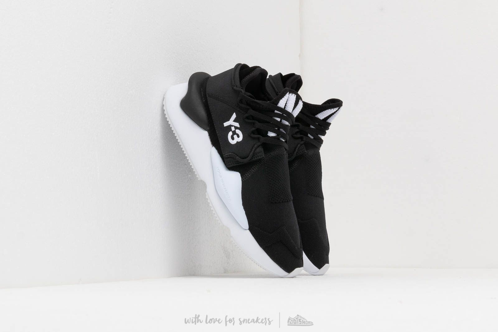 f9efa959f9ee7 Y-3 Kaiwa Knit Core Black  Ftw White  Core Black at a great