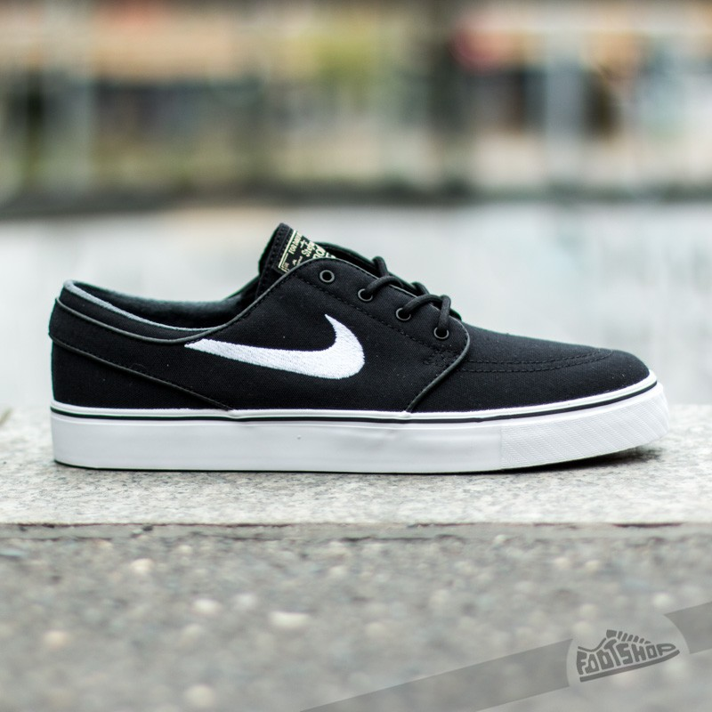 lowest price 6d416 73e9a Nike Zoom Stefan Janoski CNVS BlackWhite-Gum Light Brown at a great price