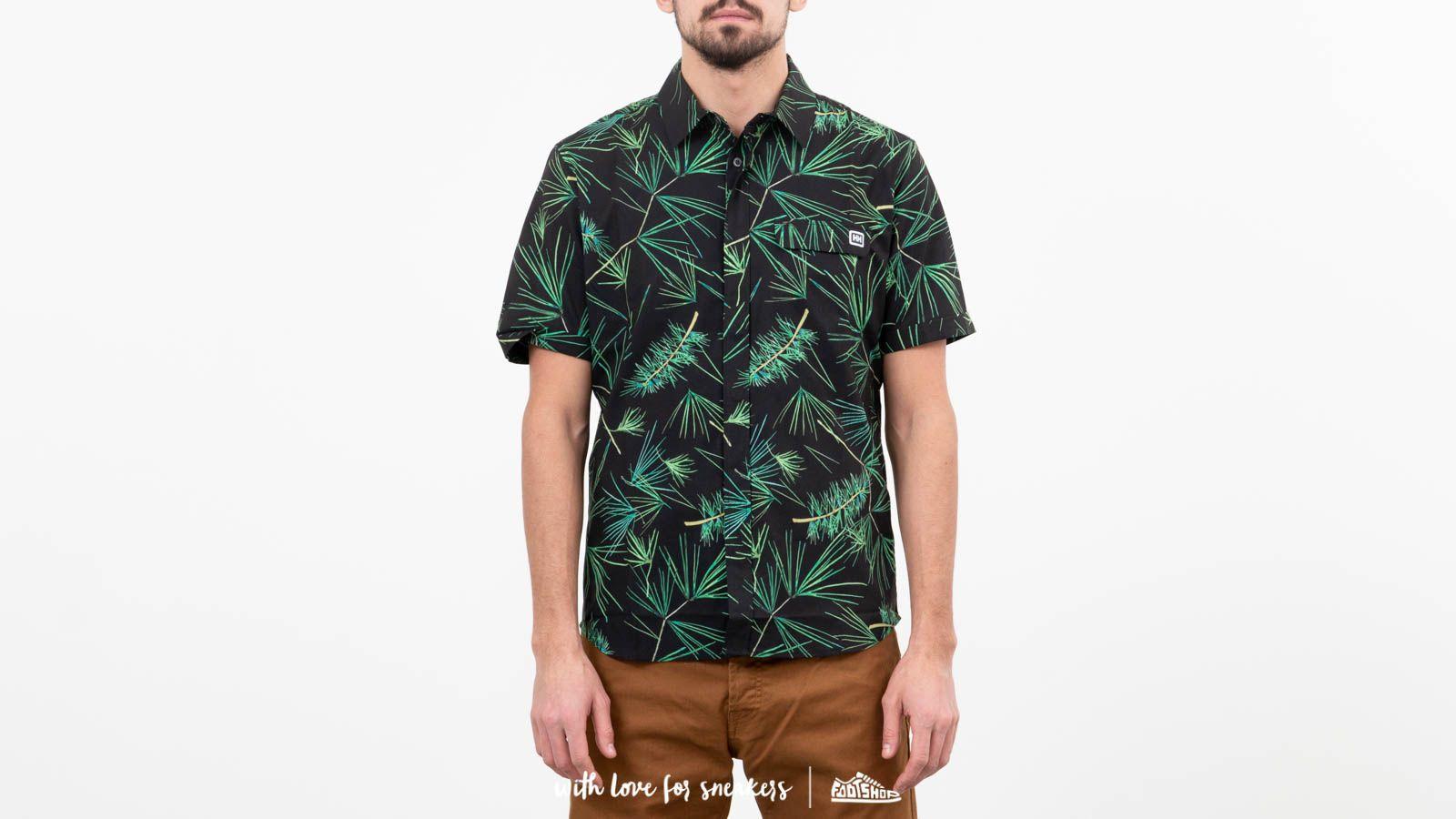 Helly Hansen Oya Shortsleeve Shirt Ebony/ Print za skvelú cenu 84 € kúpite na Footshop.sk