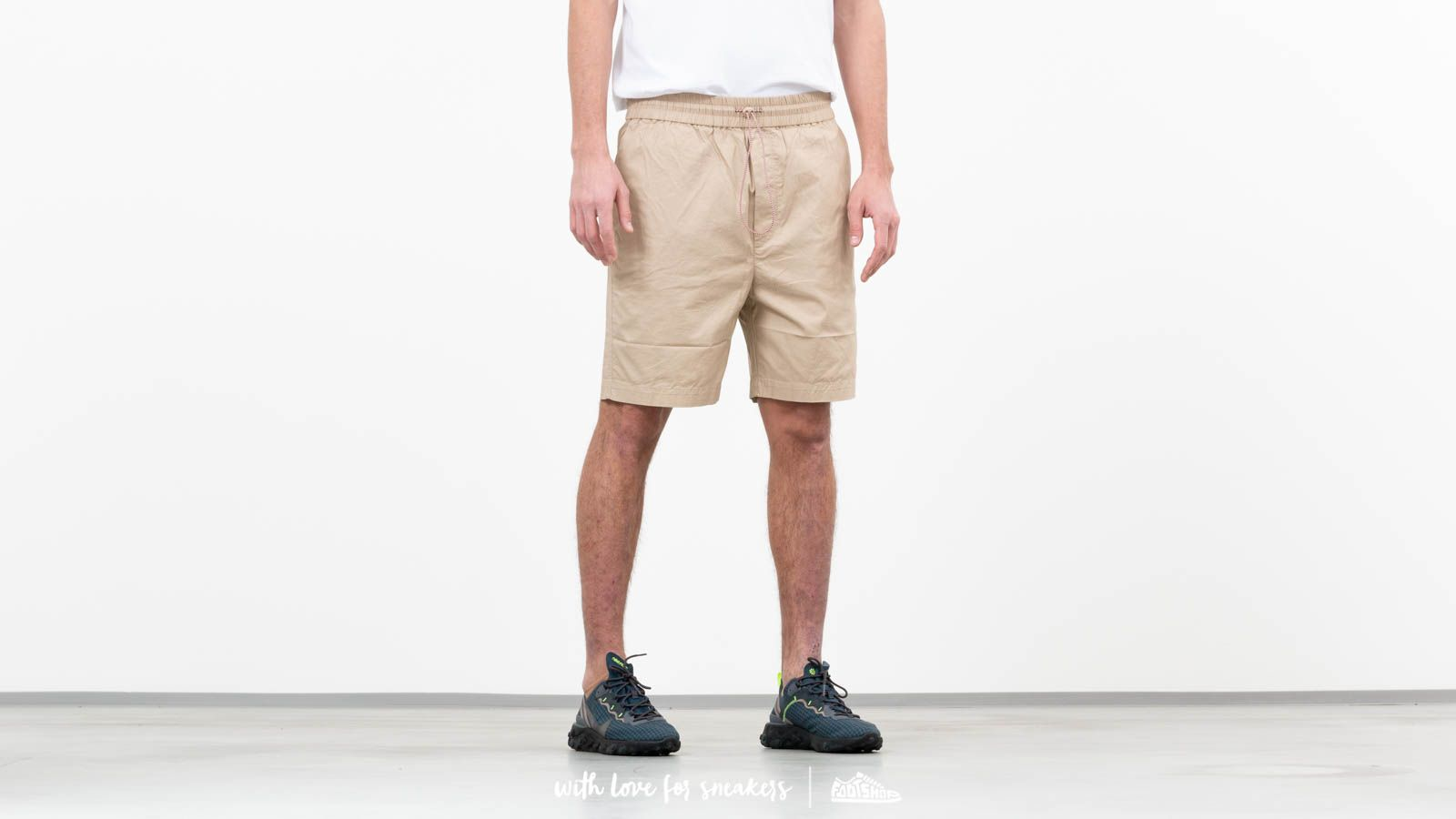 Shorts WOOD WOOD Baltazar Shorts Light Khaki
