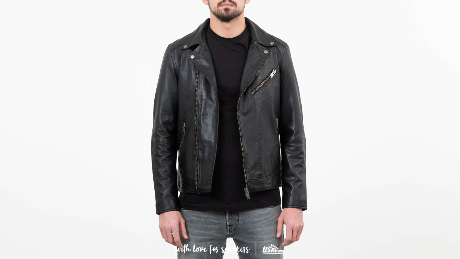 SELECTED B-02 Biker Leather Jacket