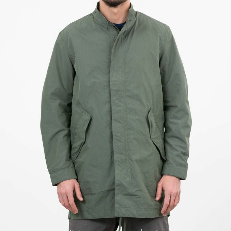 SELECTED Icon Fishtail Parka Thyme