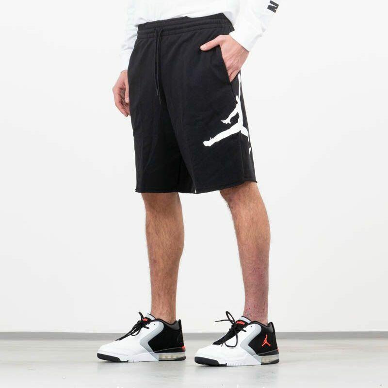Jordan Air Fleece Shorts Black