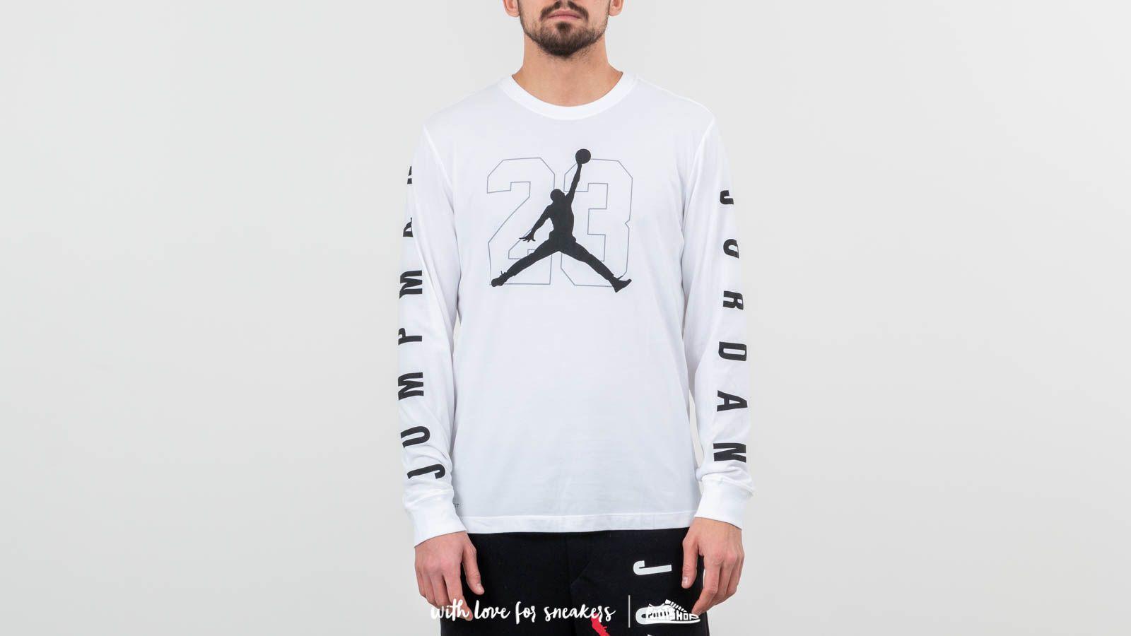 6b0983dc8600 Jordan Jumpman 23 Longsleeve Tee White