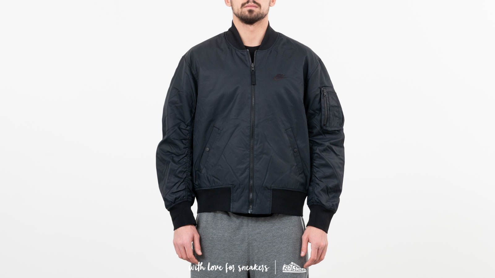 Nike Reversible Bomber Jacket Black at a great price 121 € buy at Footshop