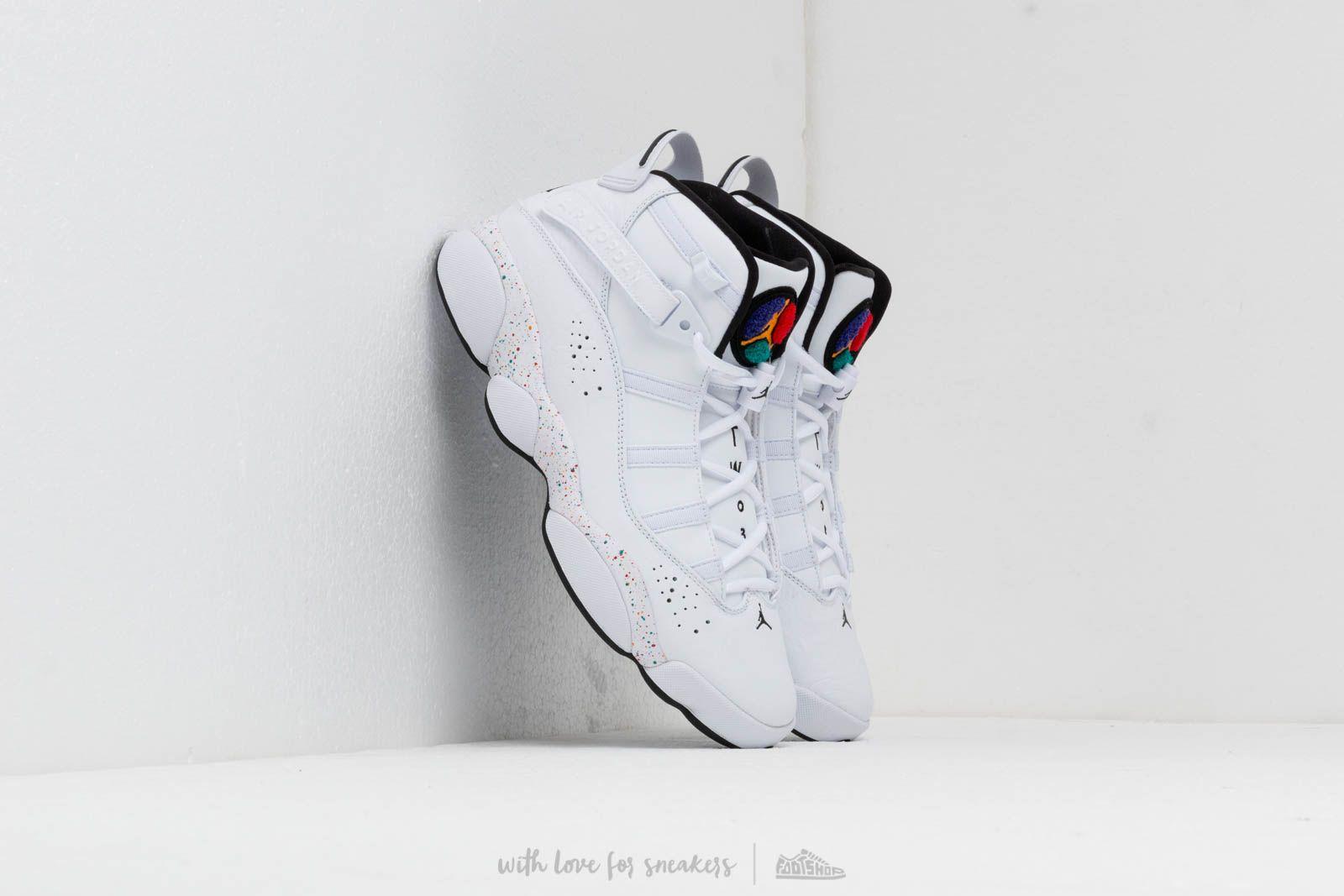 Air Jordan 6 Rings University Gold Black White Shoes Best