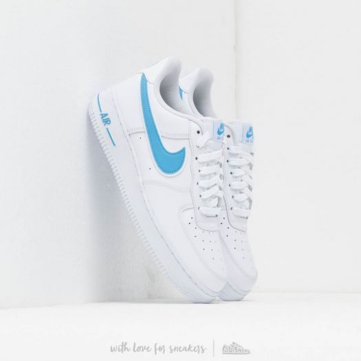 9c756d6e Nike Air Force 1 '07 3 White/ University Blue | Footshop