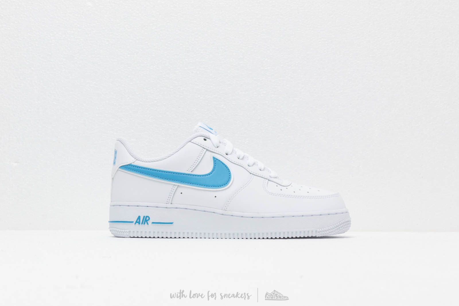 info for f405e a36e2 Nike Air Force 1  07 3 White  University Blue at a great price 95