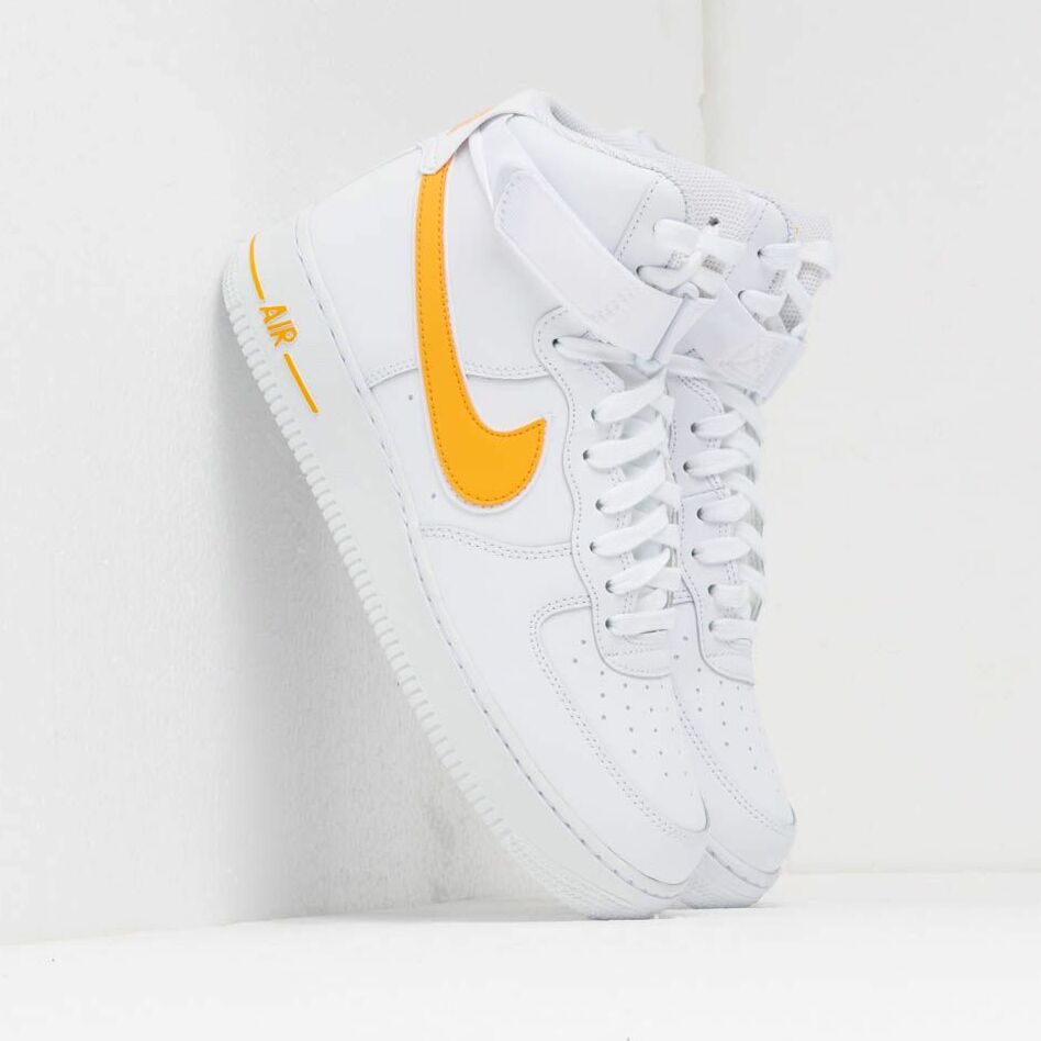 Nike Air Force 1 High '07 3 White/ University Gold EUR 46