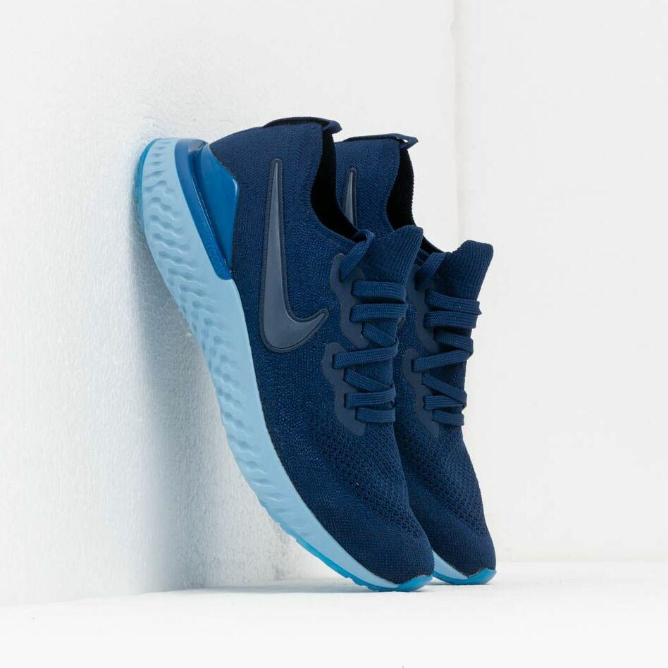 Nike Epic React Flyknit 2 Blue Void/ Blue Void-Indigo Force-Black EUR 43