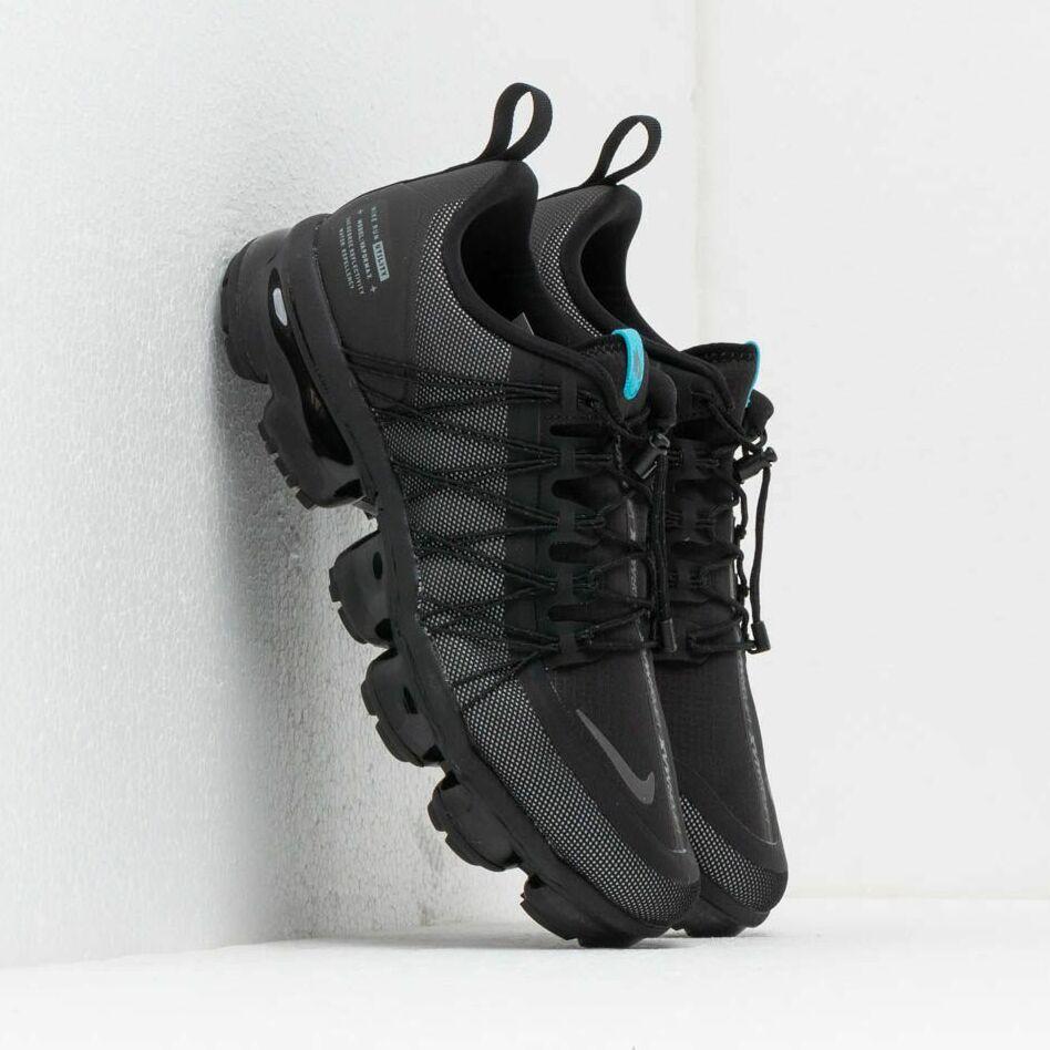 Nike Air Vapormax Run Utility Black/ Cool Grey-Blue Fury EUR 43
