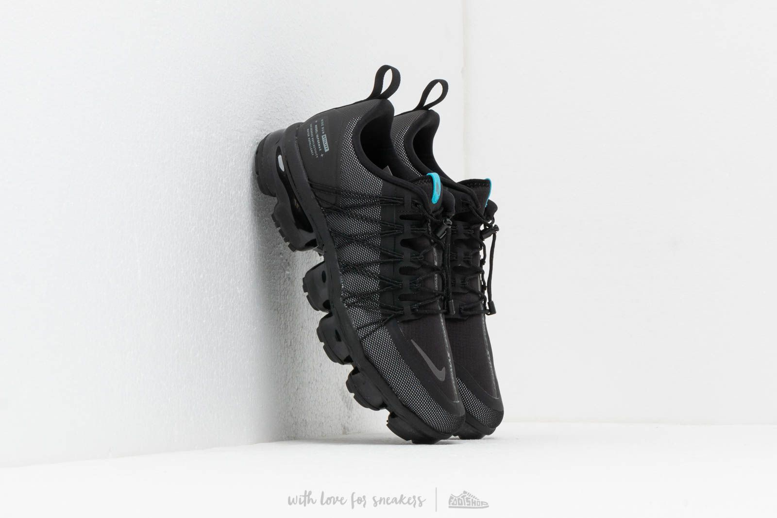 1694c542cdf Nike Air Vapormax Run Utility Black  Cool Grey-Blue Fury