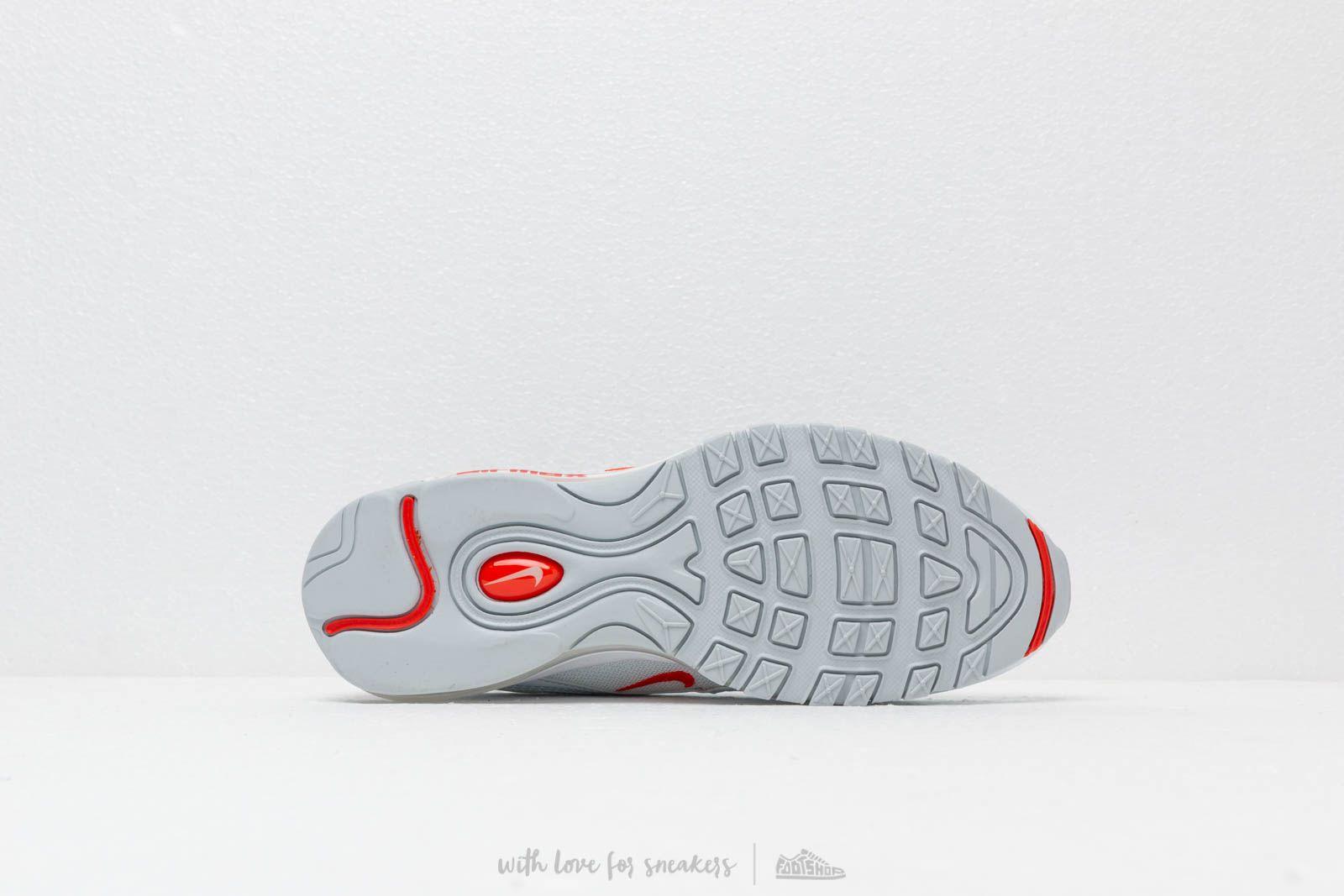 Nike Air Max 97 Pure Platinum Team Orange White | Footshop