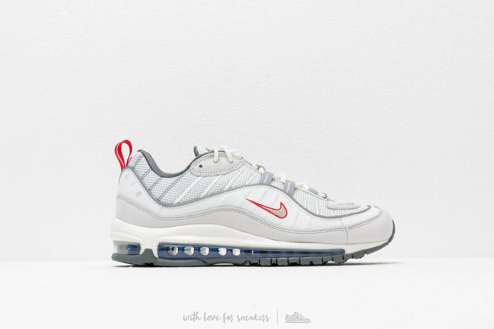 bc6a14181c Nike Air Max 98 Summit White/ Metallic Silver at a great price £146 buy