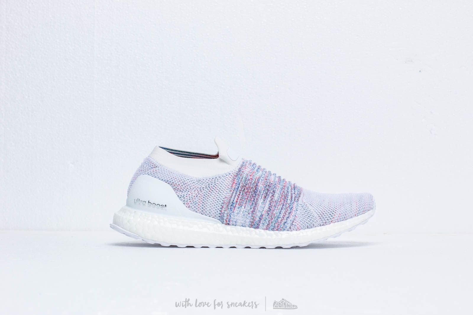144022cb7c67c adidas Ultraboost Laceless Ftw White  Active Red  Active Green at a great  price 176