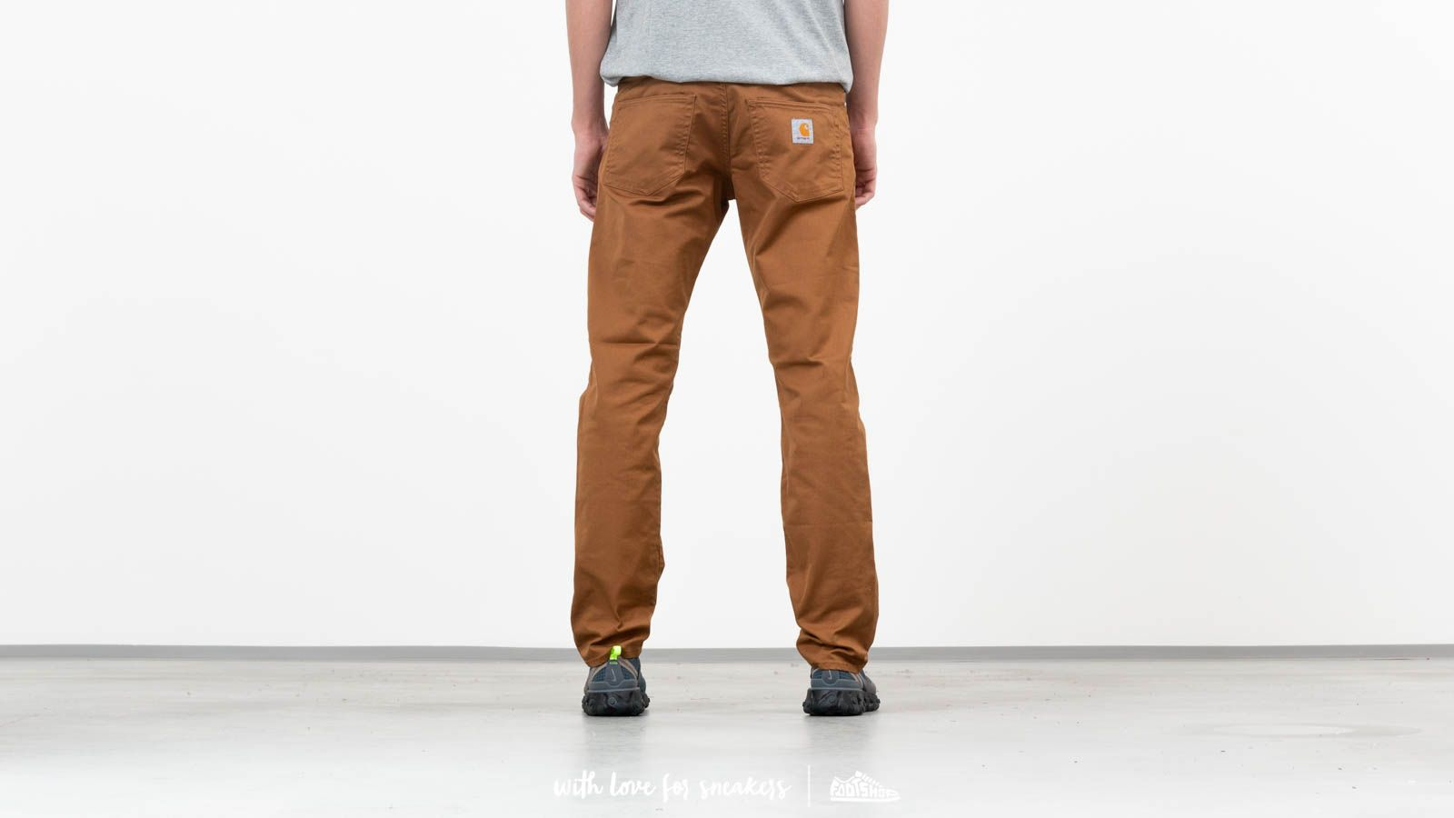 f6a7555efb2 Carhartt WIP Klondike Pant Hamilton Brown at a great price 73 € buy at  Footshop