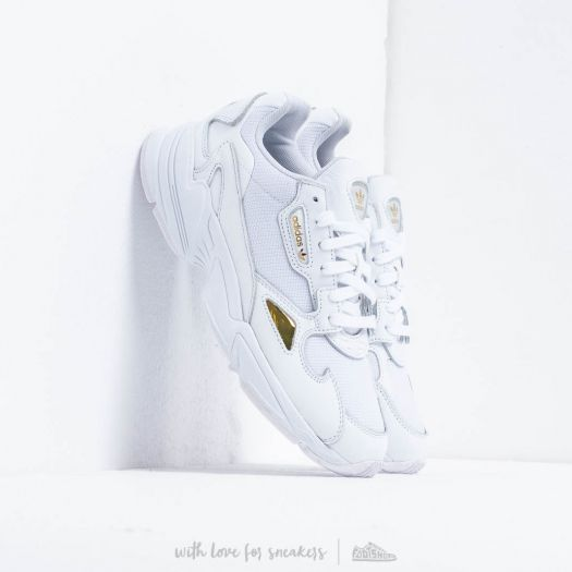 adidas Falcon W Ftw White Ftw White Gold Metalic   Footshop