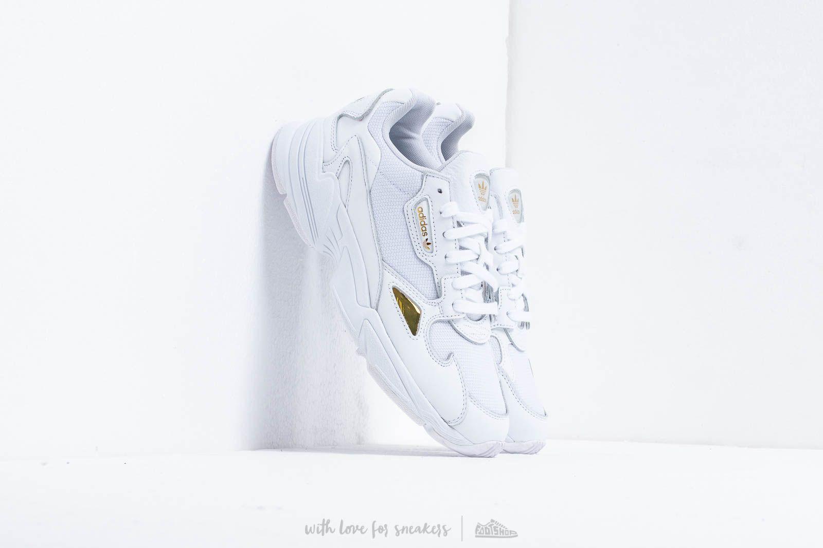 d34966397687f adidas Falcon W Ftw White  Ftw White  Gold Metalic