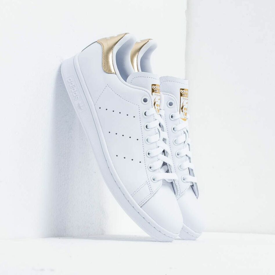 adidas Stan Smith W Ftw White/ Ftw White/ Gold Mate EUR 36 2/3