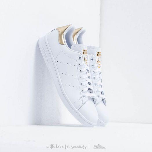 adidas stan smith white gold