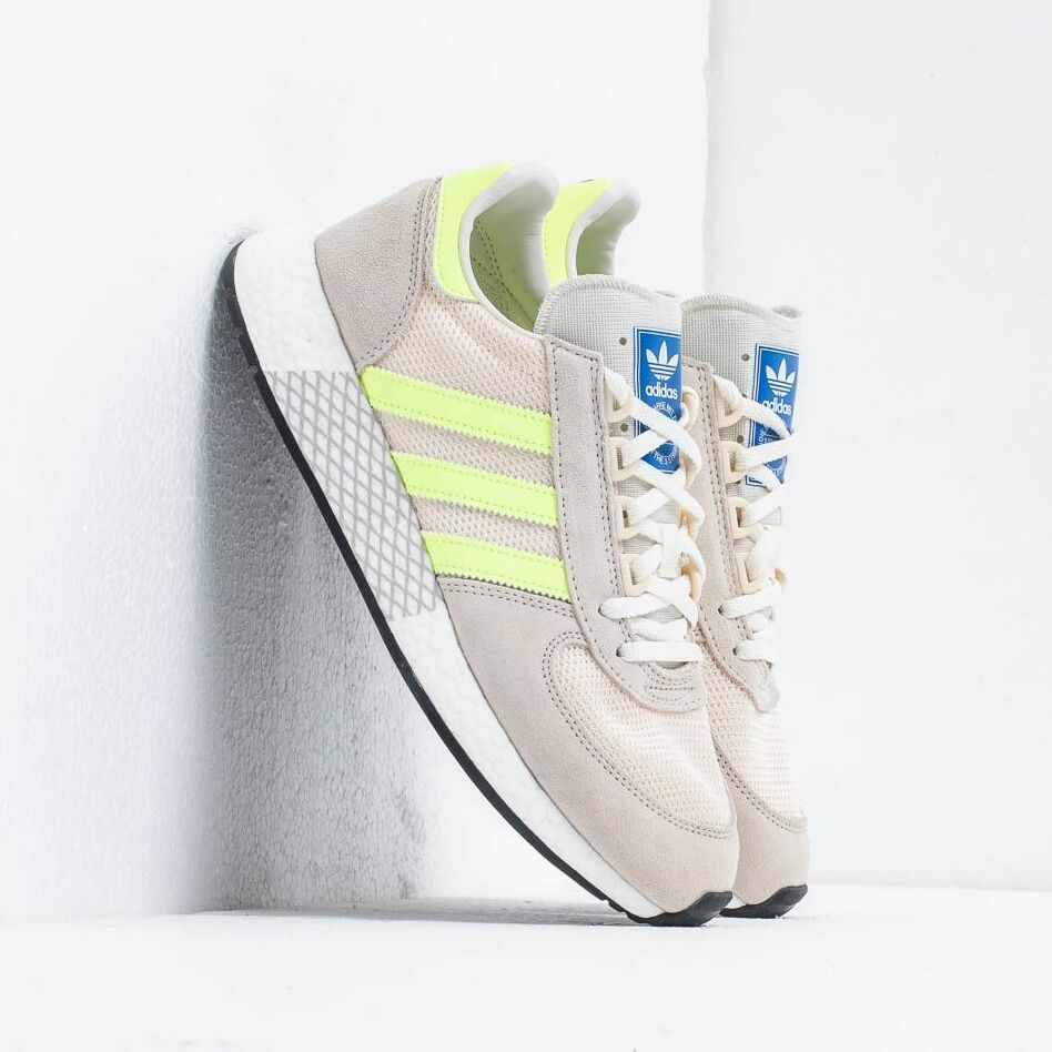 adidas Marathon Tech Clear Brown/ Hi-Res Yellow / Ecru Tint
