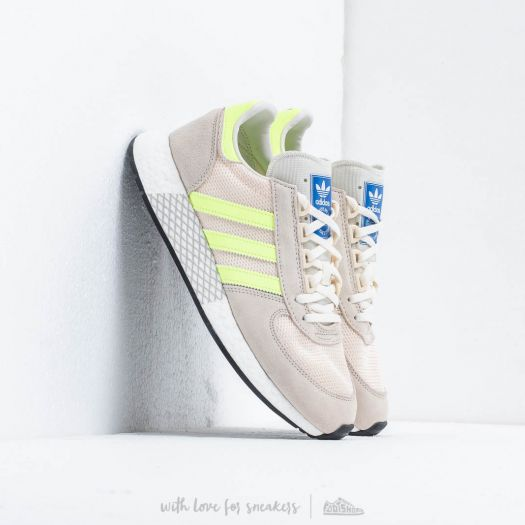 adidas Marathon Tech Clear Brown/ Hi-Res Yellow / Ecru Tint | Footshop
