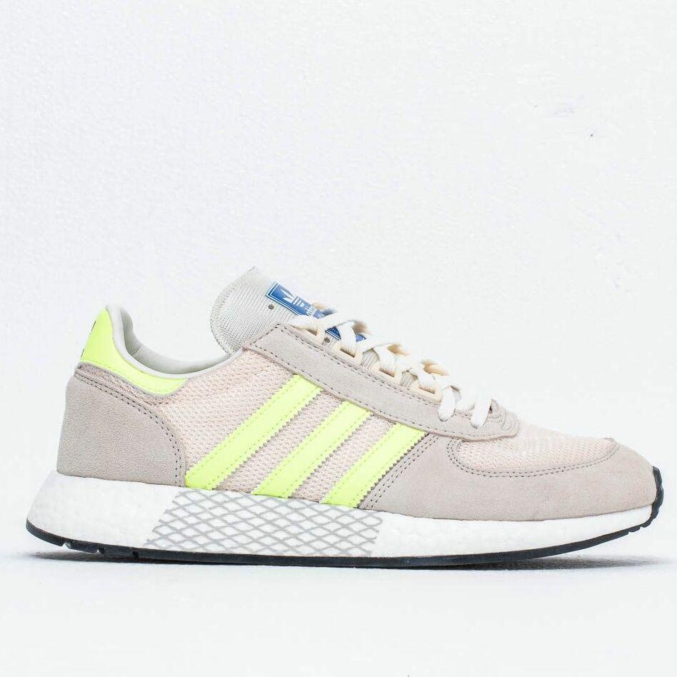 adidas Marathon Tech Clear Brown/ Hi-Res Yellow / Ecru Tint