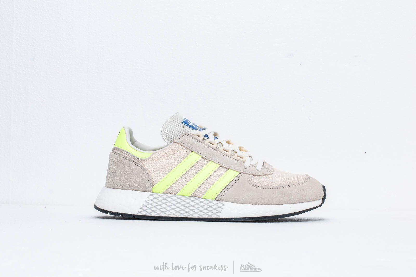 533e1ed58b adidas Marathon Tech Clear Brown/ Hi-Res Yellow / Ecru Tint nagyszerű  árakon 42