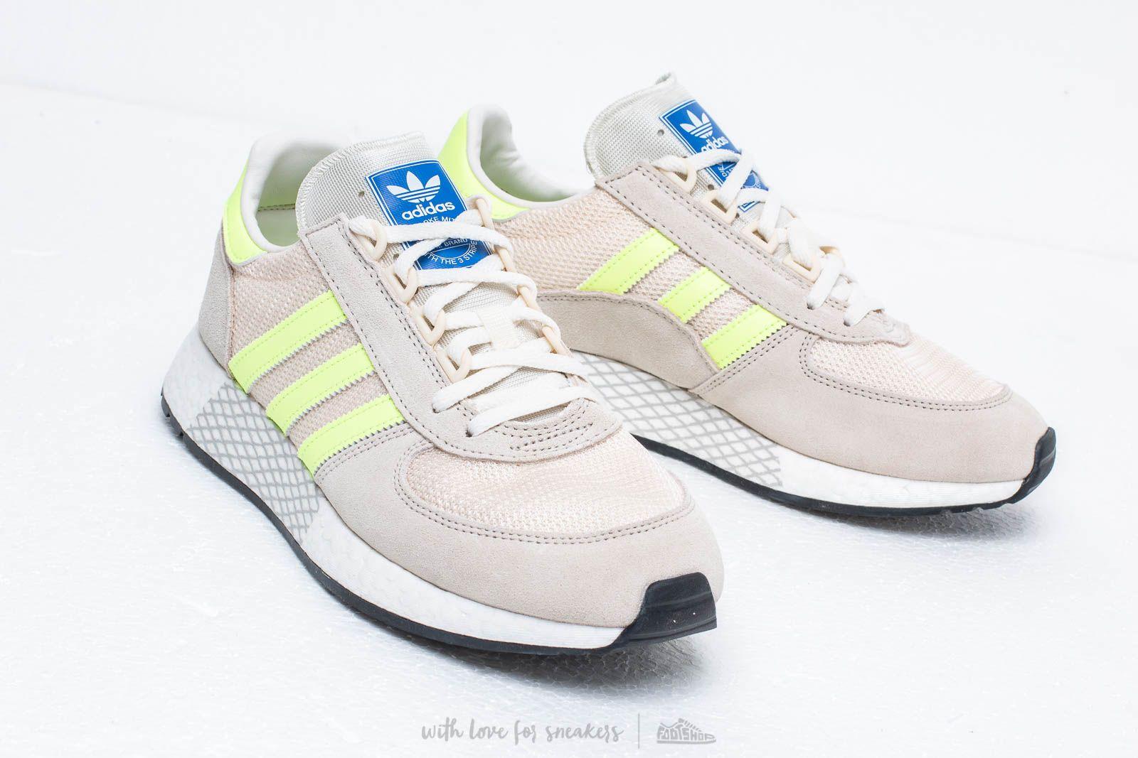 adidas Marathon Tech Clear Brown Hi Res Yellow Ecru Tint