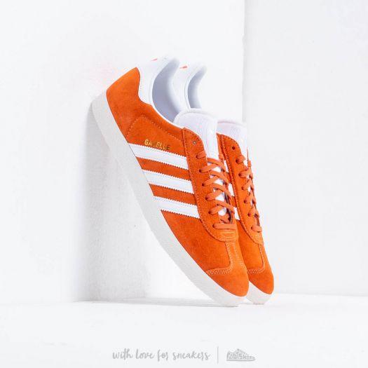 adidas Gazelle Easy Orange/ Ftw White/ Crystal White | Footshop