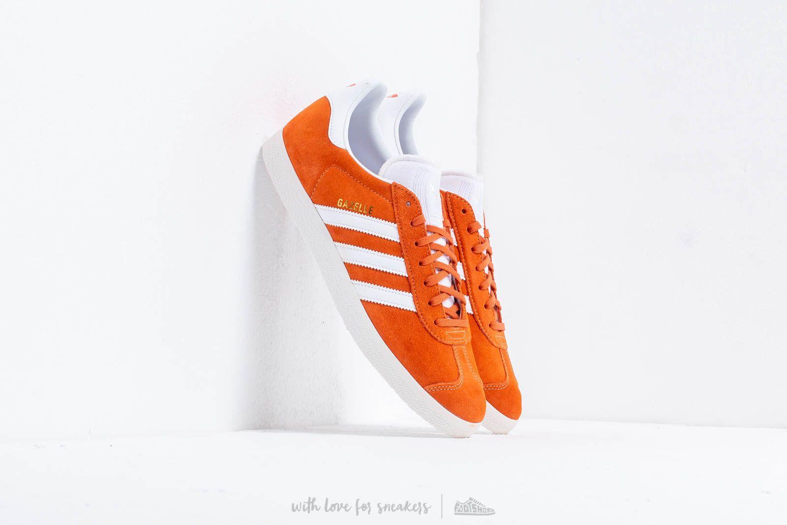 adidas Gazelle Easy Orange/ Ftw White/ Crystal White at a great price 91 € bestell bei Footshop