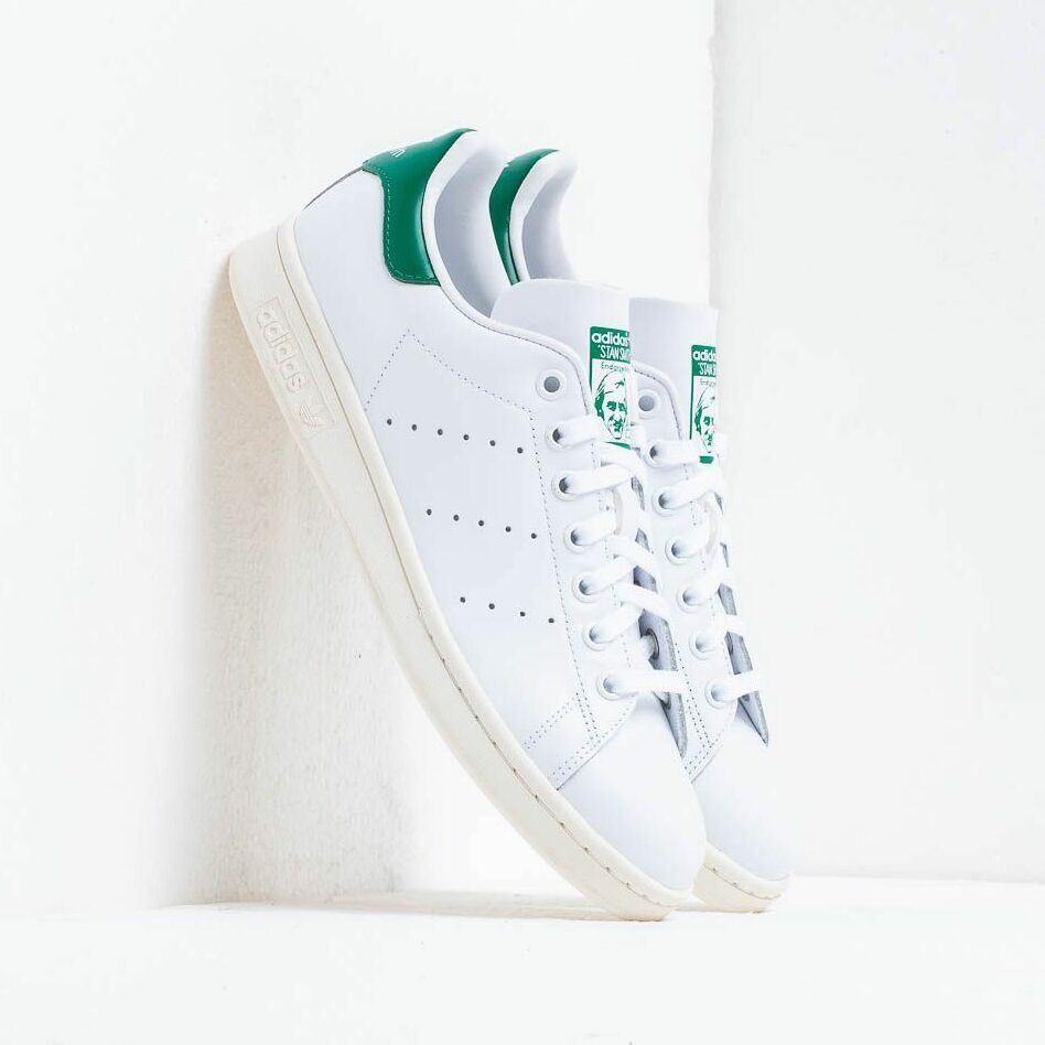 adidas Stan Smith Ftw White/ Off White/ Bgreen EUR 46 2/3