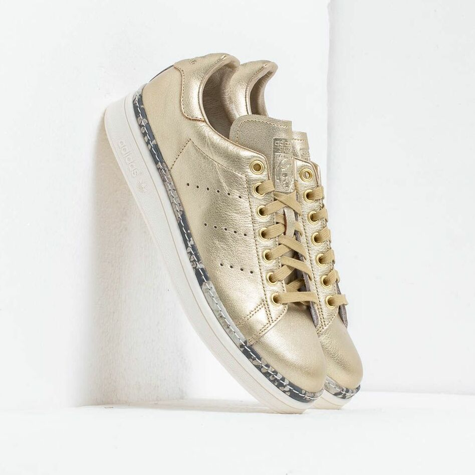 adidas Stan Smith New Bold W Gold Mate/ Gold Mate/ Off White
