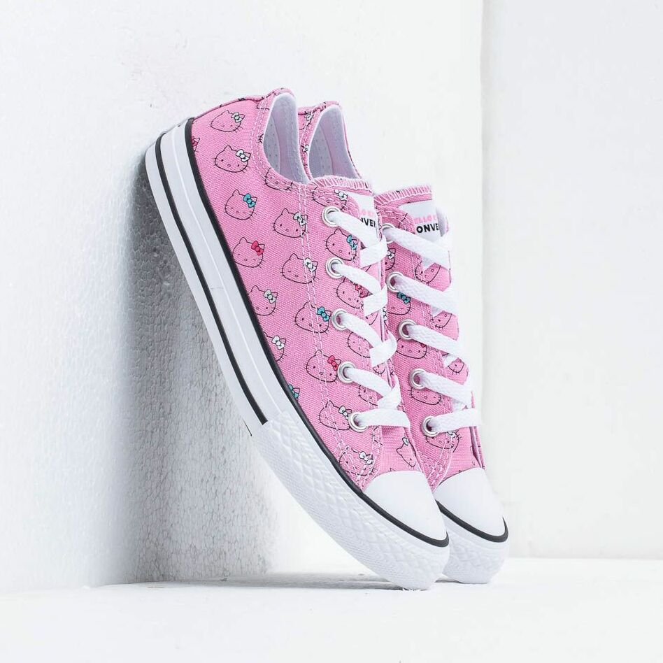 Converse x Hello Kitty Chuck Taylor All Star Prism Pink/ White/ White
