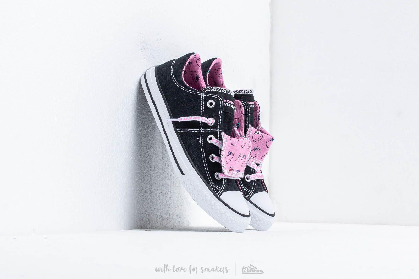 Converse x Hello Kitty Maddie Black/ Prism Pink/ White za skvělou cenu 1 290 Kč koupíte na Footshop.cz