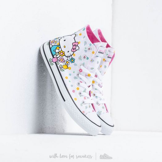 Converse x Hello Kitty Chuck Taylor All Star White Pink White | Footshop