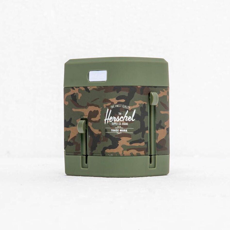 Herschel Supply Co Travel Adapter Woodland Camo