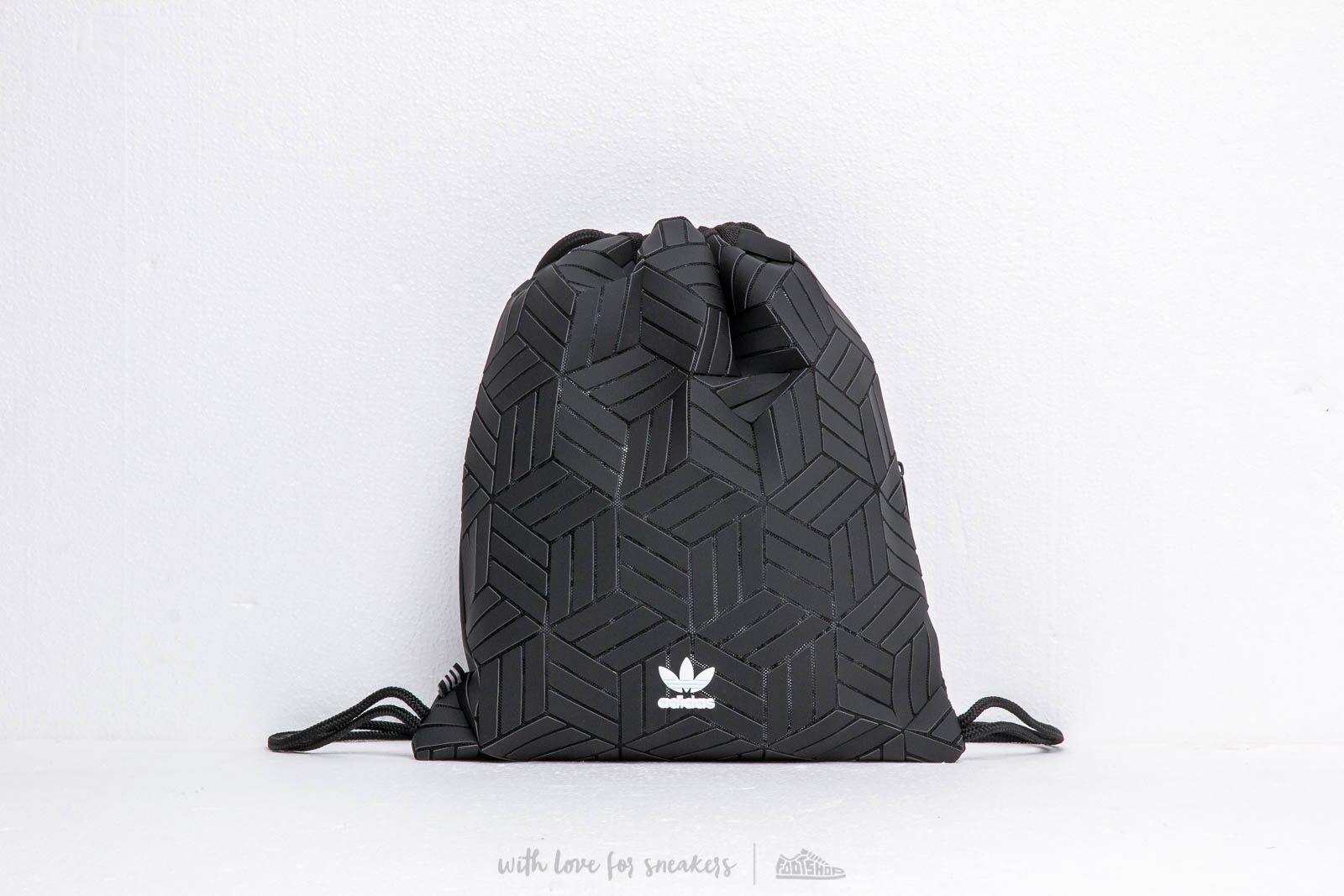 adidas 3D Gymsack Black | Footshop