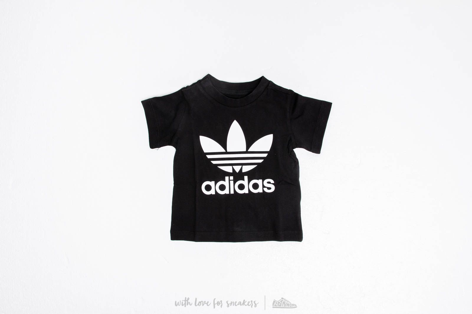 adidas Trefoil Tee Black za skvelú cenu 18 € kúpíte na Footshop.sk 623851db48d
