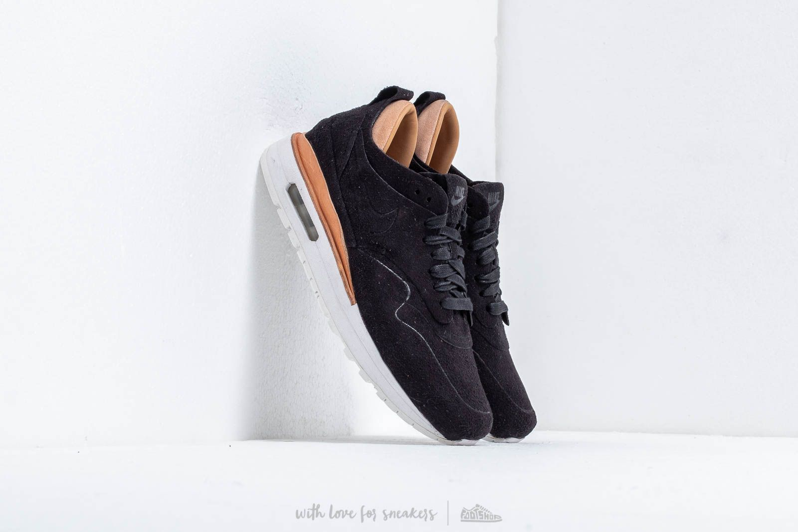 Nike Wmns Air Max 1 Royal Black/ Black at a great price 154 € buy at Footshop