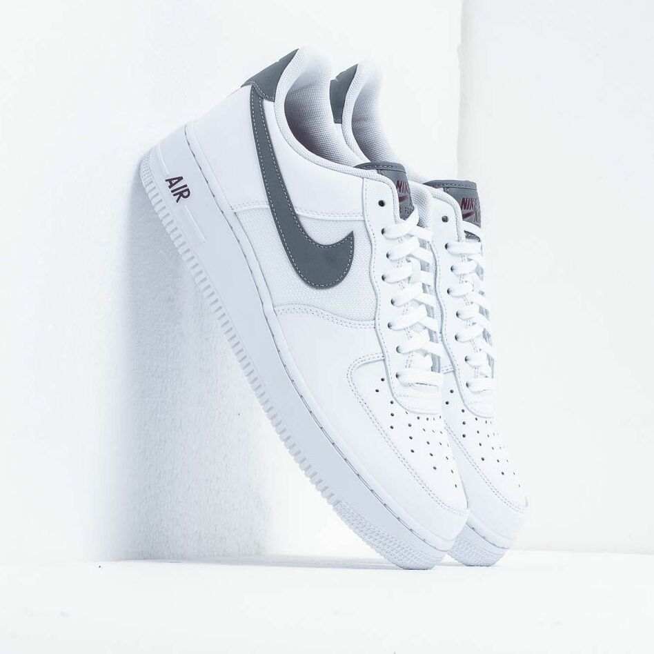 Nike Air Force 1 '07 Lv8 White/ Cool Grey-Night Maroon EUR 46