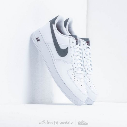 Nike Air Force 1 '07 Lv8 White/ Cool Grey-Night Maroon ...