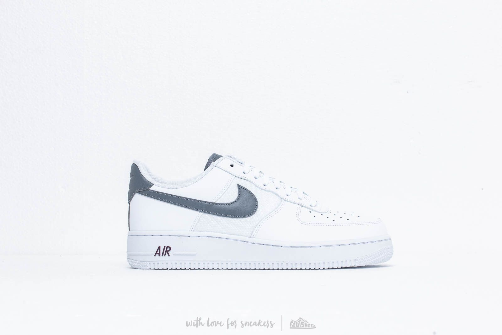 Nike Air Force 1 '07 Lv8 White Cool Grey Night Maroon | Footshop