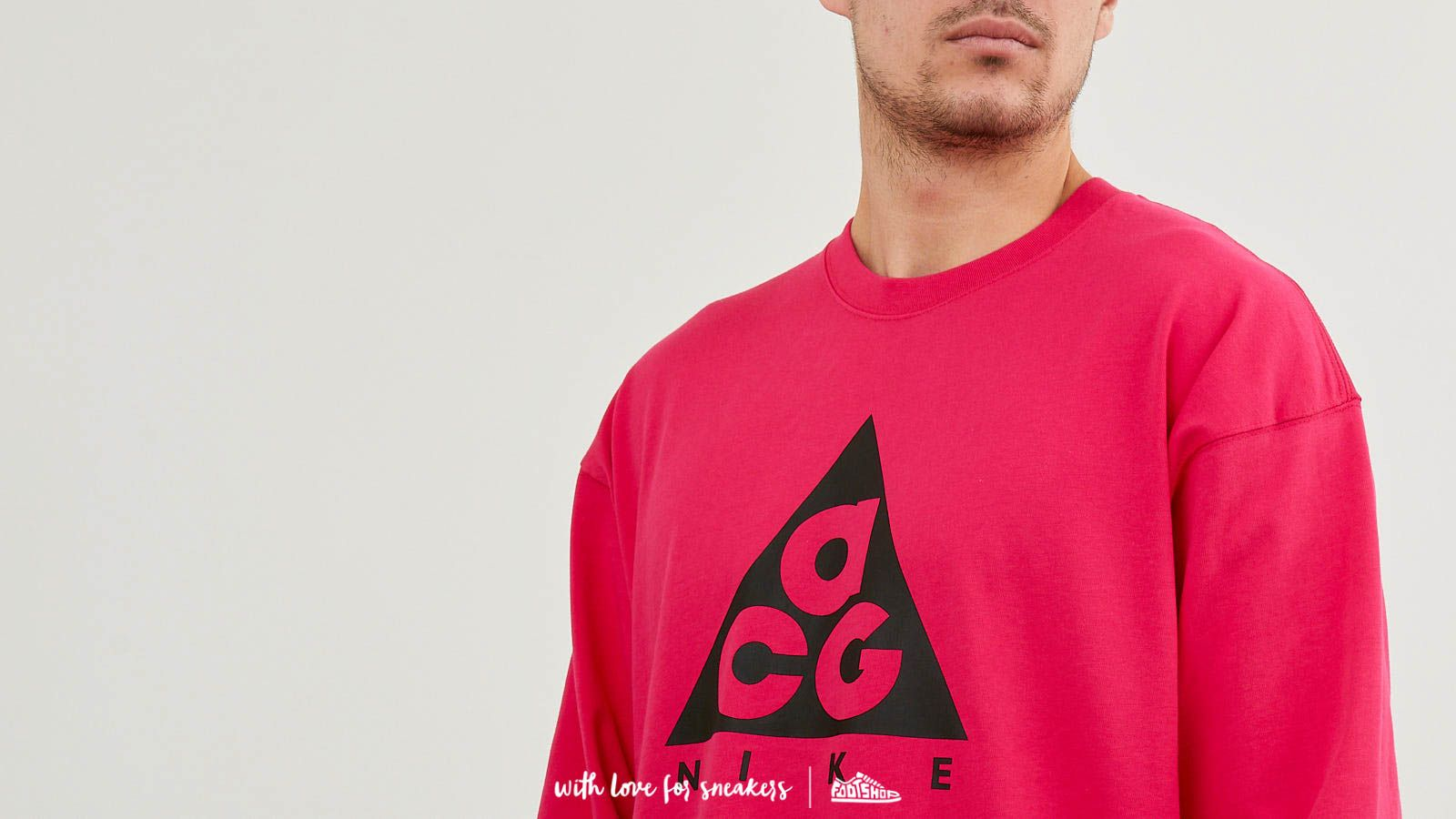 643ae68e Nike ACG Long Sleeve Logo Tee NRG Rush Pink/ Black at a great price $43