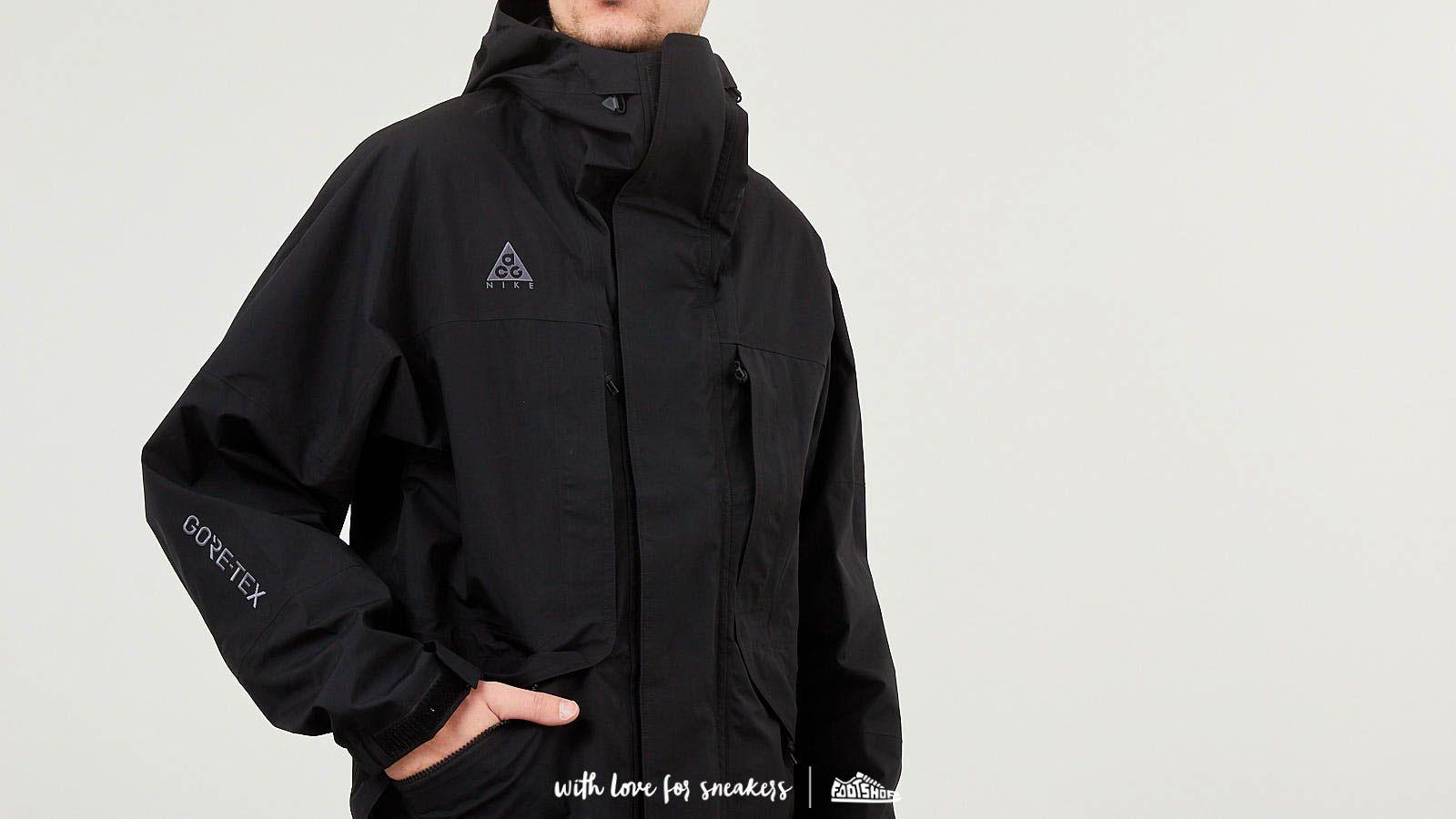 Nike ACG Goretex Jacket NRG Black   Footshop